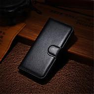 couro moda sujeira resistente ao caso da tampa flip-wallet para Apple iPhone 5 / 5s caixa do telefone capa