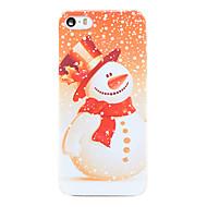 Til Etui iPhone 5 Gjennomsiktig Etui Bakdeksel Etui Jul Hard PC til iPhone SE/5s/5