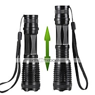 LT LED Flashlights/Torch LED 1200 Lumens 5 Mode Cree XM-L T6 18650 / AAA / 26650Adjustable Focus / Waterproof / Rechargeable / Impact