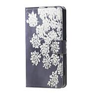 Για Θήκη LG Θήκες Καλύμματα Θήκη καρτών Πορτοφόλι με βάση στήριξης Ανοιγόμενη Πλήρης κάλυψη tok Λουλούδι Σκληρή PU Δέρμα για LGLG Nexus