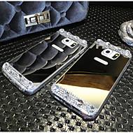 wysokiej jakości galwaniczne odzwierciedlenie diamentem tylna pokrywa dla Samsung Galaxy note4 / note5 (różne kolory)