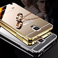 Para Samsung Galaxy Note Cromado / Espejo Funda Cubierta Trasera Funda Un Color Metal Samsung Note 5 / Note 4