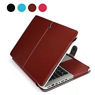 """cuaderno Asling cuero de la PU para el macbook Apple Pro 15,4 """"(color clasificado)"""
