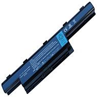 4400mAh batteri for Acer Aspire as5250 4771z 5250 7251 7551z 4750 4771 5742 5742 g 7750zg as5741 as10d51 as10d61