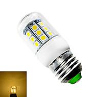 E26/E27 3 W 27 SMD 5050 280 LM Warm White T Corn Bulbs AC 85-265 V