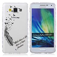 Για Samsung Galaxy Θήκη Διαφανής / Με σχέδια tok Πίσω Κάλυμμα tok Λέξη / Φράση TPU Samsung A5 / A3
