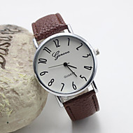 Women's Fashion Personality Leather Quartz Belt Watch(Assorted Colors) Cool Watches Unique Watches