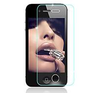 hzbyc® naarmuuntumista ohut karkaistu lasi näytön suojakalvo iPhone 4 / 4s