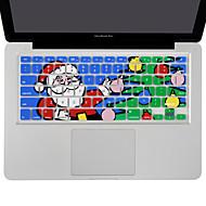 網膜13 15 17なしのMacBook Air 13、のMacBook Proのためのxsknのサンタクロースシリコンキーボードスキンカバー、私たちレイアウト