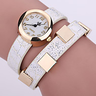 nuevo mira el reloj pulsera de las mujeres del reloj de las mujeres de negocios los relojes de pulsera de cuero marca de lujo