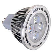 GU5.3(MR16) 6 W 4x3030SMD 540 LM Warm White / Cool White MR16 Decorative Spot Lights AC 85-265 / AC 12 V