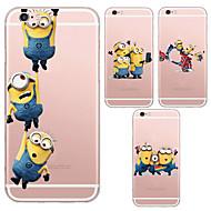MAYCARI®Joyful Mr.Minions Transparent TPU Back Case for iPhone 6/iphone 6S(Assorted Colors)