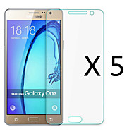 (5 Pcs) High Definition Screen Protector Flim for Samsung Galaxy On7