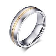 Muškarci Klasično prstenje Moda kostim nakit Titanium Steel Jewelry Za Party Dnevno Kauzalni