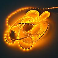 5m 5w 300x3528 smd gult lys fleksibel LED strip lampe (DC 12V)