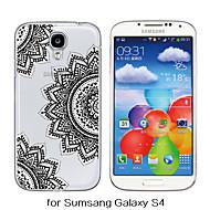 For Samsung Galaxy etui Transparent / Mønster Etui Bagcover Etui Mandala-mønster TPU Samsung S6 / S5 / S4