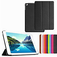 Ultra-Thin Folding Smart Sleep Protective Case PU Leather Case Cover For iPad Mini 4  (Assorted Colors)