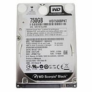 Western Digital WD7500BPKT SATA3 750G 2.5-inch for Notebook Internal Hard Disk Black Plate