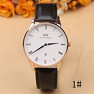 Rome Fashion Simple Scale Gold Shell Single Calendar Dial Quartz Watch Men And Women Casual Belt