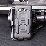 Для Кейс для  Samsung Galaxy Защита от удара / со стендом Кейс для Чехол Кейс для Армированный PC Samsung A5 / A3
