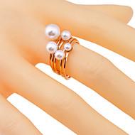 Κρίκοι Πάρτι / Καθημερινά / Causal Κοσμήματα Μαργαριτάρι / Κράμα Γυναικεία Εντυπωσιακά Δαχτυλίδια 1set,7