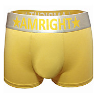 Am Right Men's Cotton Blends Boxer Briefs AM034