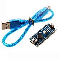 nano 3.0 atmel ATmega328P bordo de mini-usb w / cable usb para arduino
