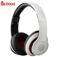 Boas trådlösa bluetooth hörlurar studio rekord headset för mobiltelefon för bilförare tv