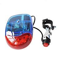 자전거 전조등 LED - 싸이클링 경적 / 휴대성 AA 200LM 루멘 배터리 사이클링