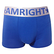 Am Right Hommes Mélange de coton Boxer Short AM028