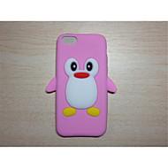 leuke cartoon shell siliconen zet mobiele telefoon bescherming shell voor ipod touch 6 (assorti kleur)