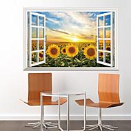 휴일 벽 스티커 3D 월 스티커 , pvc 60x90x0.1cm
