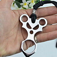 moda in acciaio inox mini multitools difesa campeggio / esterno (colore casuale)