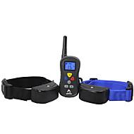 Cani Collari di addestramento per cani Impermeabili Nero Plastica / Silicone