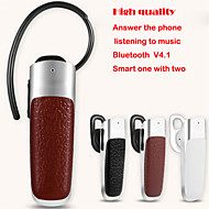 trådløs bluetooth v4.0 headset ørebøylen stil stereo øretelefon med mikrofon for iPhone samsung mobiltelefon tablet pc