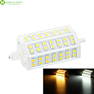 R7S 118mm 42 x 5060SMD 10W Warm White / Cool White 1000LM 220°Beam Horizontal Plug Lights Dimmable Flood Light AC85-265V