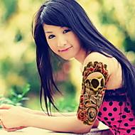 1 - 22*15cm - Πολύχρωμο - People - BR - Σειρά Κοσμημάτων / Σειρά Άνιμαλ / Σειρά Λουλουδιών / Σειρά Τοτέμ / Άλλα - Αυτοκόλλητα Τατουάζ -