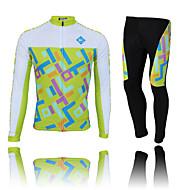 KEIYUEM Ciclismo Set di vestiti/Completi / Calze Per donna / Unisex BiciclettaImpermeabile / Traspirante / Isolato / Asciugatura rapida /