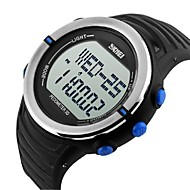 mannen lcd digitale gezondheid sport horloge stappenteller hartslagmeter