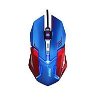 電子3lue ems639の5colorは光USB光学解像度4000有線プロゲーミングマウスを主導