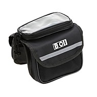 BOI® Fahrradtasche 1LAußenrahmen für Rucksäcke / Fahrradrahmentasche / Handy-Tasche Multifunktions / Telefon/Iphone / TouchscreenTasche