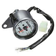 motocicleta iztoss duplo hodômetro calibre velocímetro retroiluminação LED luz de sinal