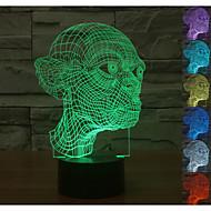 visuelle 3D Cartoon-modellieren mood Atmosphäre LED Dekoration usb Tischlampe bunte Geschenknachtlicht