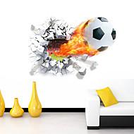 카툰 로맨스 스포츠 3D 벽 스티커 3D 월 스티커 데코레이티브 월 스티커,비닐 자료 이동가능 홈 장식 벽 데칼