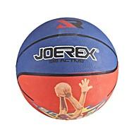 joerex 7 # caoutchouc basket bleu / bleu rouge / jaune intérieure&basket en plein air