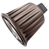 6W GU5.3(MR16) LED Spot Işıkları R63 1 COB 500 lm Sıcak Beyaz / Serin Beyaz Dekorotif DC 12 / AC 12 V 1 parça