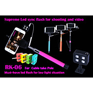 RK06S For Cable Take Pole Night Using Selfie Enhancing Flash Light