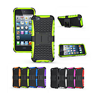 Soft Silicone Hard Plastic Shell Holder Stand Phone Funda Case For Apple iPod touch 6