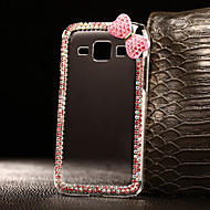 DIY Pink Bowknot Pattern PC Hard Case for Multiple Samsung Galaxy S3 S4 S5 S6 S6 S7 Edge Plus