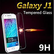 explosieveilige premium gehard glas filmdoek beschermkap 0,3 mm gehard membraan boog voor Galaxy J1